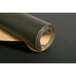 CLAIREFONTAINE Rlx Kraft brun imprimé 1 face noir 60g 10x1m