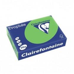 TROPHÉE Ramette 250 Feuilles Papier 210g A4 210x297 mm Certifié FSC  vert menthe