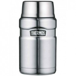 THERMOS Récipient alimentaire STAINLESS KING, 0,71 litre Argent