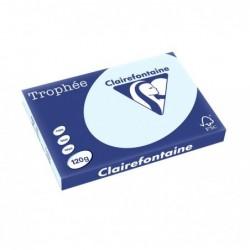 TROPHÉE Ramette 250 Feuilles Papier 120g A3 420x297 mm Certifié FSC  Bleu