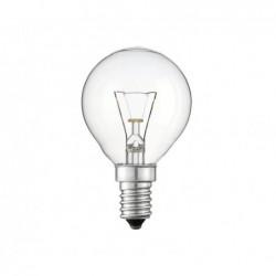 PHILIPS Pack de 10 ampoules Philips SPHÈRIQUES 25 Watts E14 (Transparent)