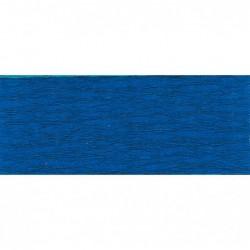 CLAIREFONTAINE Rouleau de papier crépon 75% 2,50x0,50m bleu France