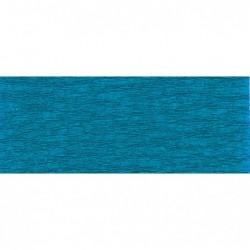 CLAIREFONTAINE Rouleau de papier crépon 75% 2,50x0,50m bleu pétrole
