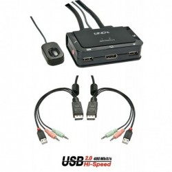 LINDY Switch KVM Compact...