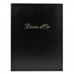 EXACOMPTA Livre d'or balacron Noir 26x22 +/titre