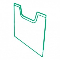 EXACOMPTA Plaque recouvrement trieur A4 horizontal cristal