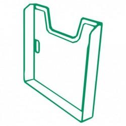 EXACOMPTA Elément simple trieur A4 vertical vert bouteille