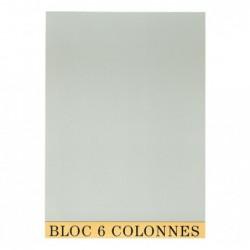 EXACOMPTA BLOC COMPTABLE 29,7/21 6 Col. 70Fls.