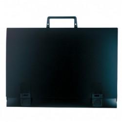 EXACOMPTA VALISETTE PP noire + poignée 380X530