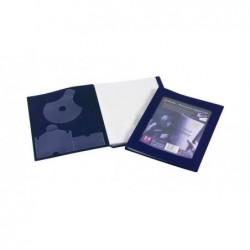 REXEL Livret de présentation A4 24 pochettes coloris noir