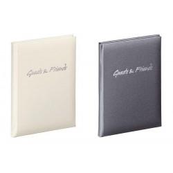 """PAGNA Livre d'or """"Guests & Friends"""", bleu foncé, 240 pages"""
