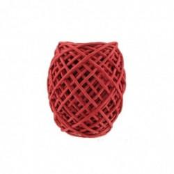 CLÉOPÂTRE Corde Papier Rouge D.2mmX20M