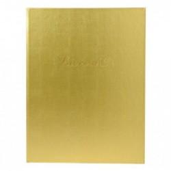 EXACOMPTA Livre d'or balacron or 26X22 +/titre
