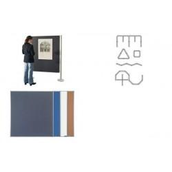 MAGNÉTOPLAN magnetoplan mur de présentation set 1
