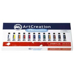 ROYAL TALENS Acrylique ArtCreation EXpression, 12ml, set 12
