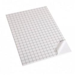CLAIREFONTAINE Paquet de 5 Feuilles Carton Mousse Adhésif Epaisseur 10 mmA3 Blanc