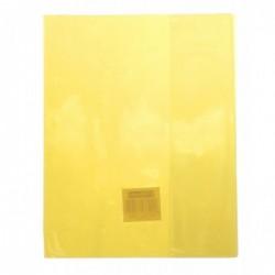 CLAIREFONTAINE Protège-cahier Cristal Luxe 22/100ème A5 14,8x21 transparent incolore