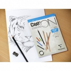 CLAIREFONTAINE Cray'ON Paquet 250F A4 200g