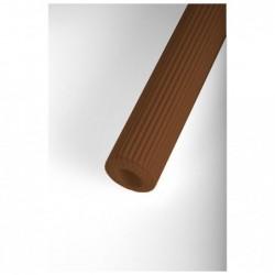 CLAIREFONTAINE Sac-étui 10F carton mini-microcannelé 50x70cm chocolat