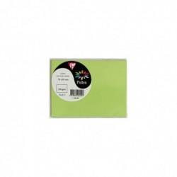 POLLEN Paquet de 5 cartes 70x95 210g vertes