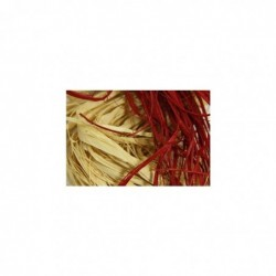 CLAIREFONTAINE Pelote raphia naturel 50g, assortiment de 15