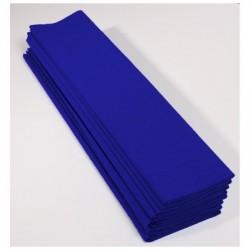 CLAIREFONTAINE Paquet 10F Crépon M75 2.5x0.5m bleu France