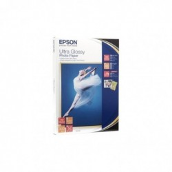 EPSON Bte 50 Feuilles Papier Ultra Glossy Photo 10 x 15 cm