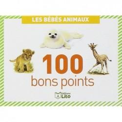 LITO Boîtes de 100 bons points Les bébés animaux