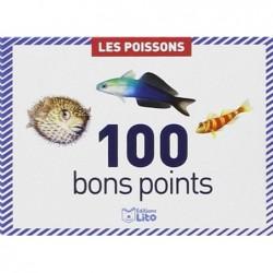 EDITIONS LITO Boite de 100 bons points : Les Poissons
