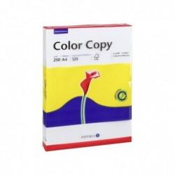 PAPYRUS Ramette de 125 Feuilles Papier Color Copy A4 250g Satiné Ultra blanc