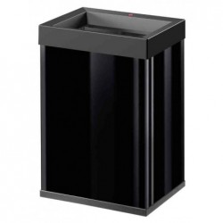 HAILO Poubelle Big-Box Quick 40, 40 litres, noir