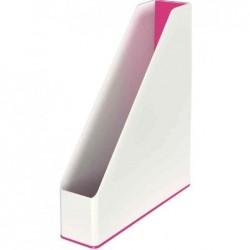 LEITZ Porte-revues WOW Duo Colour, A4, polystyrène, Rose