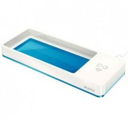 LEITZ Plumier WOW Duo Colour, chargeur à induction, bleu