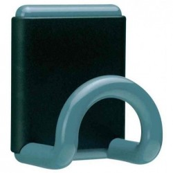 UNILUX Patère Magnétique FIL 1 crochet Bleu