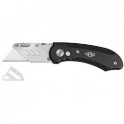 WEDO Cutter couteau repliable avec 5 lames et protection