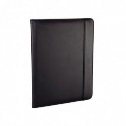 MONOLITH Conférencier cuir reconstitué A4 avec support présentoir et protection pour tabl