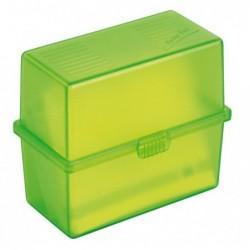 EXACOMPTA MEMO-BOX A8 vert pomme translucide