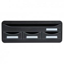 EXACOMPTA TOOLBOX MINI 4 tiroirs ECOBlack noir