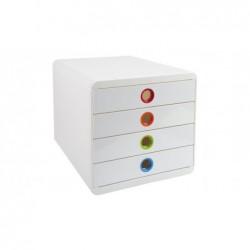 EXACOMPTA POP-BOX Iderama blanc/arlequin