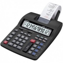 CASIO Calculatrice de bureau 12 Chiffres avec imprimante