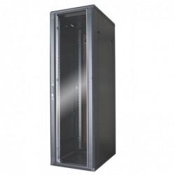 WAYTEX Baie serveur 42U 600x800 porte verre / 4 ventil / arrière saloon nid ab / V+R