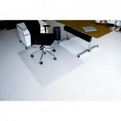 WAYTEX Tapis protege sol moquette Pro PET Transparent 1.20 x 1.30m