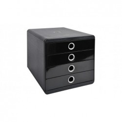 EXACOMPTA POP-BOX Iderama noir/argent