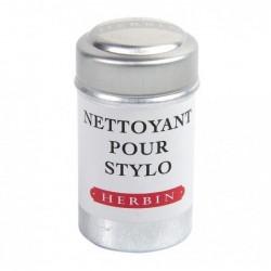 HERBIN boite de 6 cartouches d'encre nettoyante