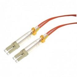 WAYTEX Jarretière optique multimode OM2 50/125 duplex Zipp orange LC/LC 15.00m
