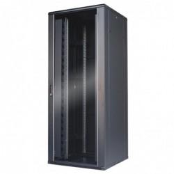 WAYTEX Baie de brassage réseau 42U noire 800x800 démontée