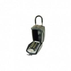 Boîtier garde clefs à code avec cache clavier