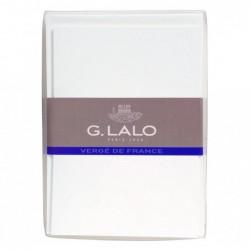 G.LALO 10 cartes & 10 env C6 CV - extra blanc