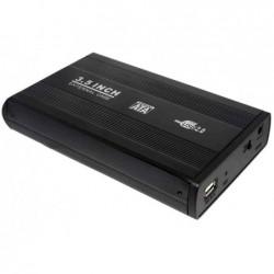 "LOGILINK Boîtier aluminium USB 2.0 pour disque dur SATA 3,5"""