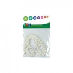 DTM sachet de 10 elastiques Blanc 60cm